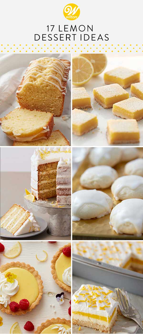 17 lemon dessert ideas