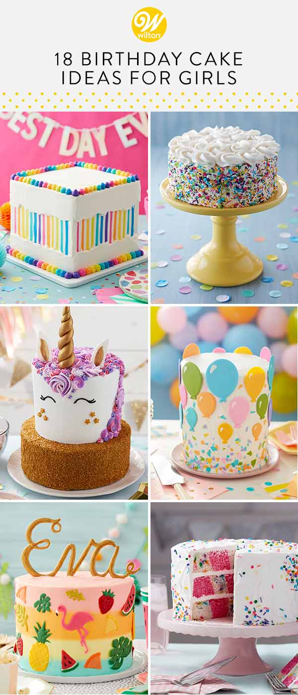 18 birthday cake ideas for girls