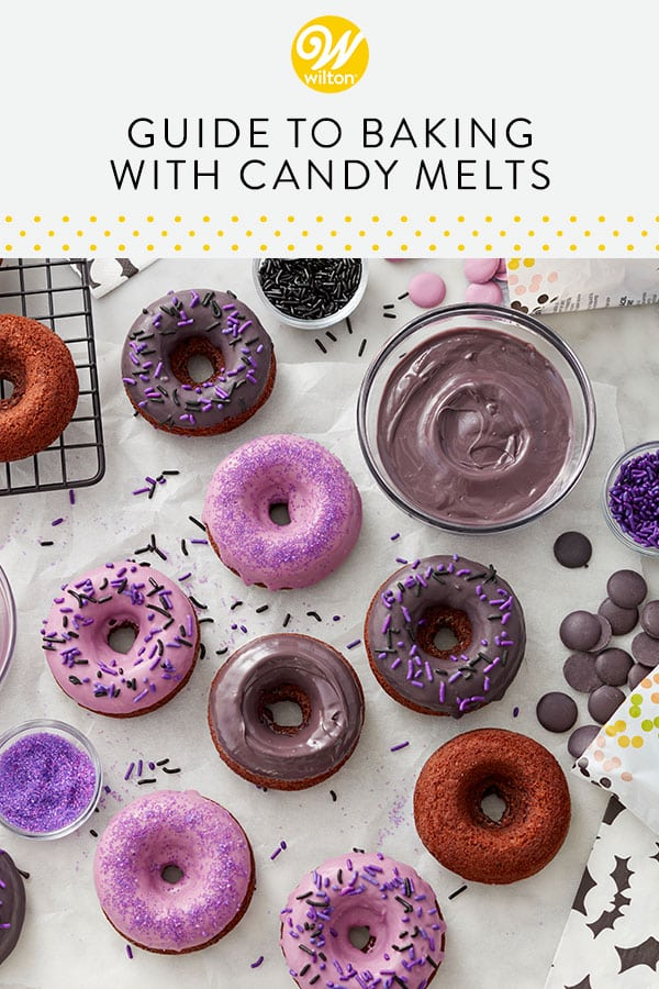 guide to baking with candy melts pin