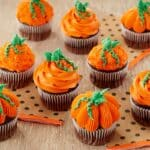 3 Easy Buttercream Pumpkin Cupcakes