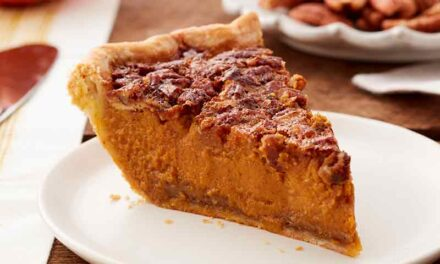 Homemade Pumpkin Pecan Pie Recipe
