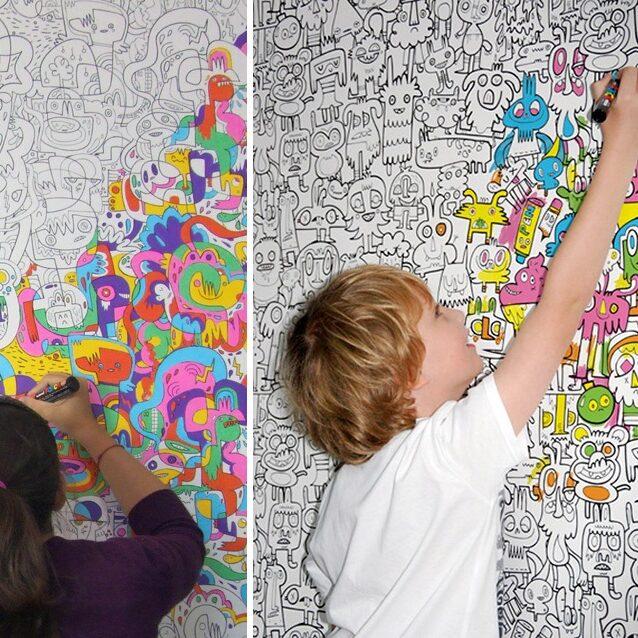 coloring walls