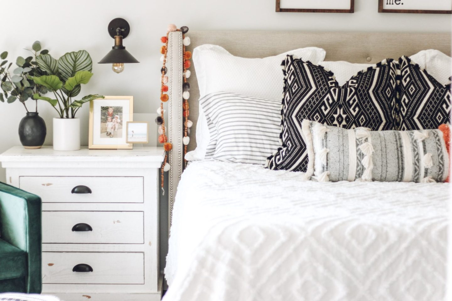 boho farmhouse bedroom