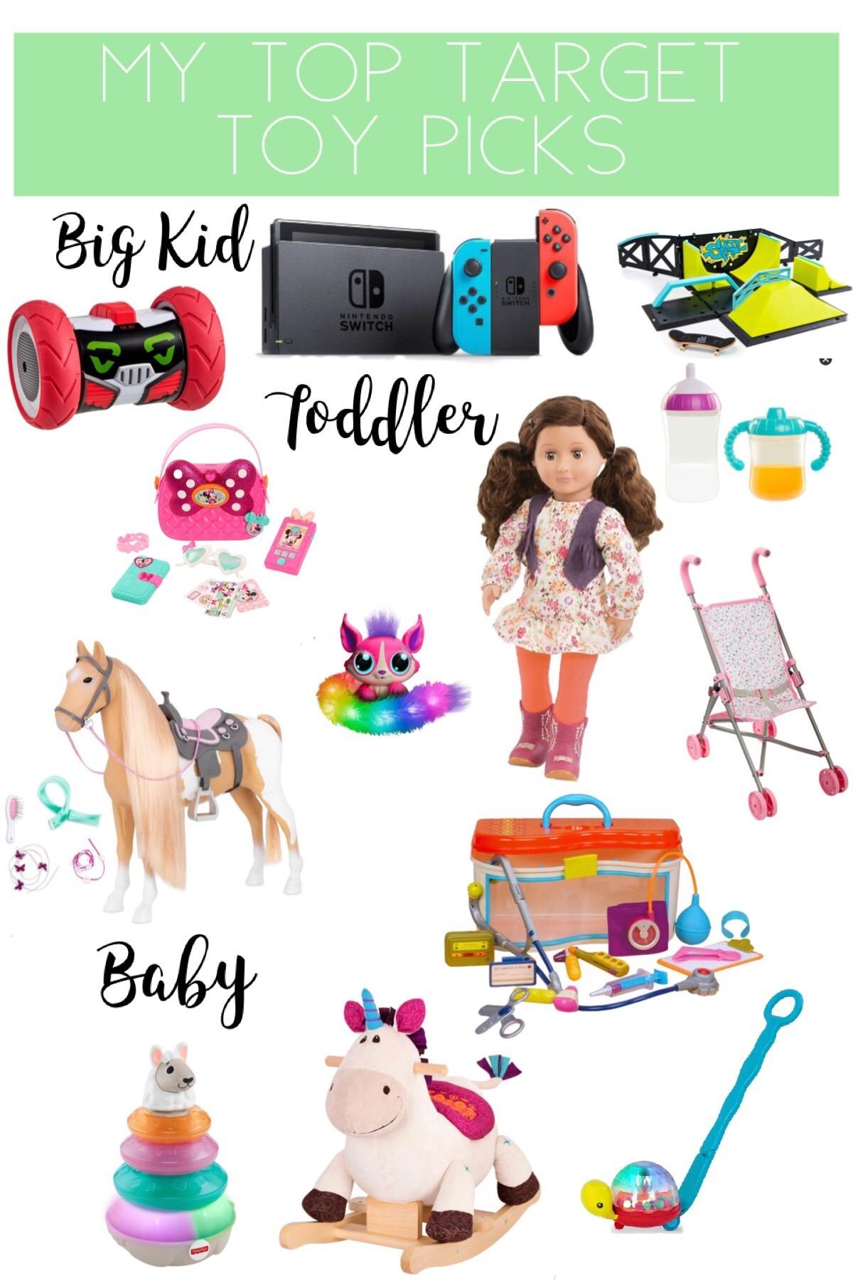 Target Toys, My Top Target Toy Picks