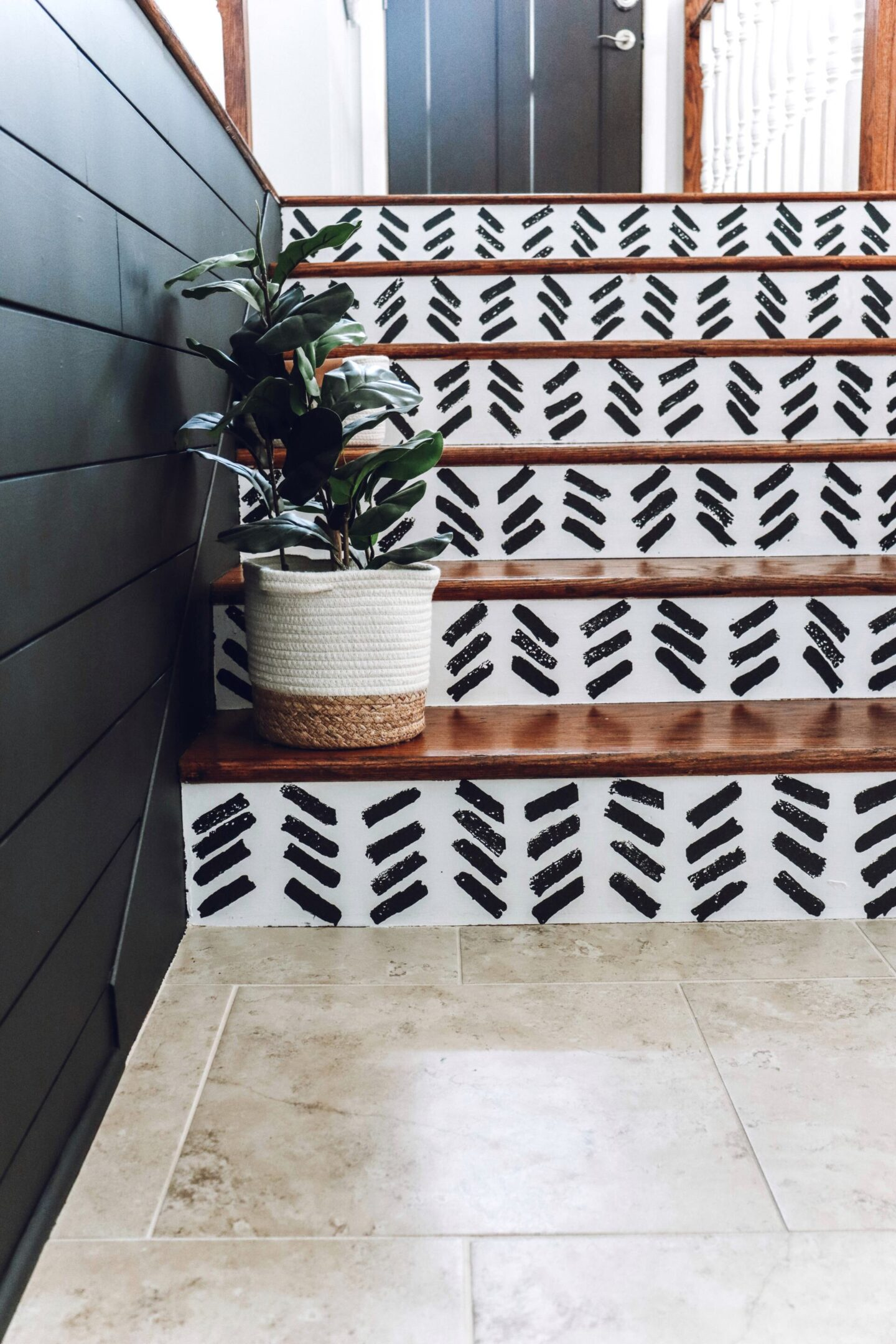 staircase pattern
