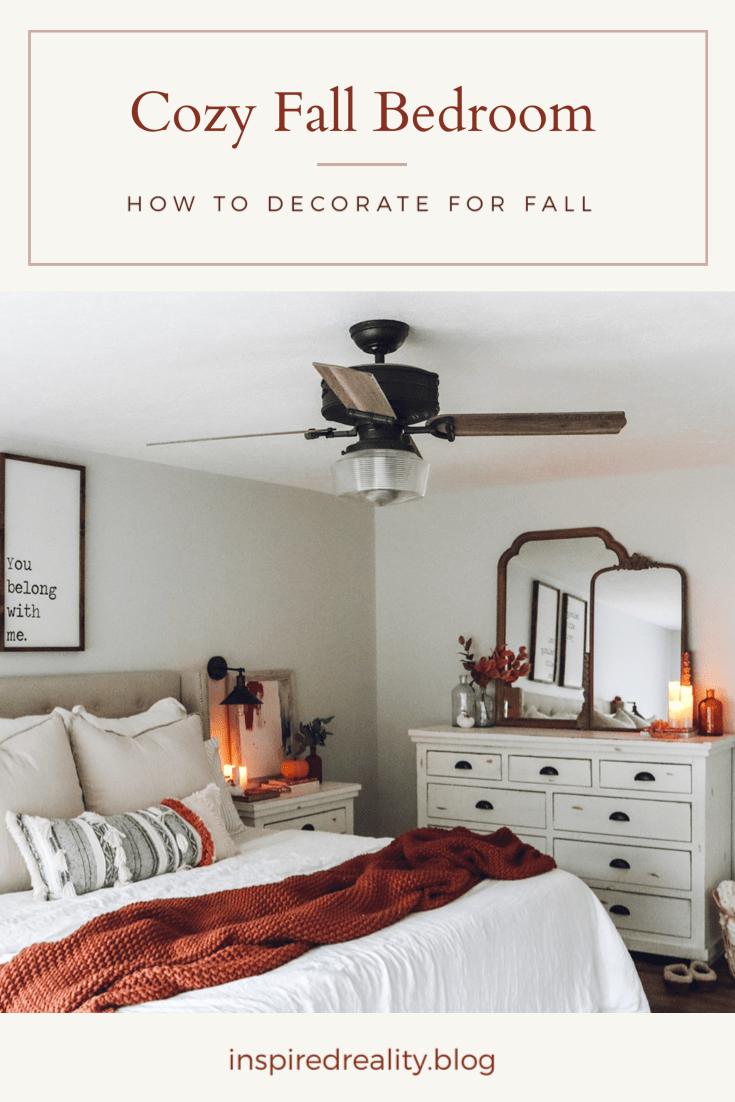 cozy fall bedroom