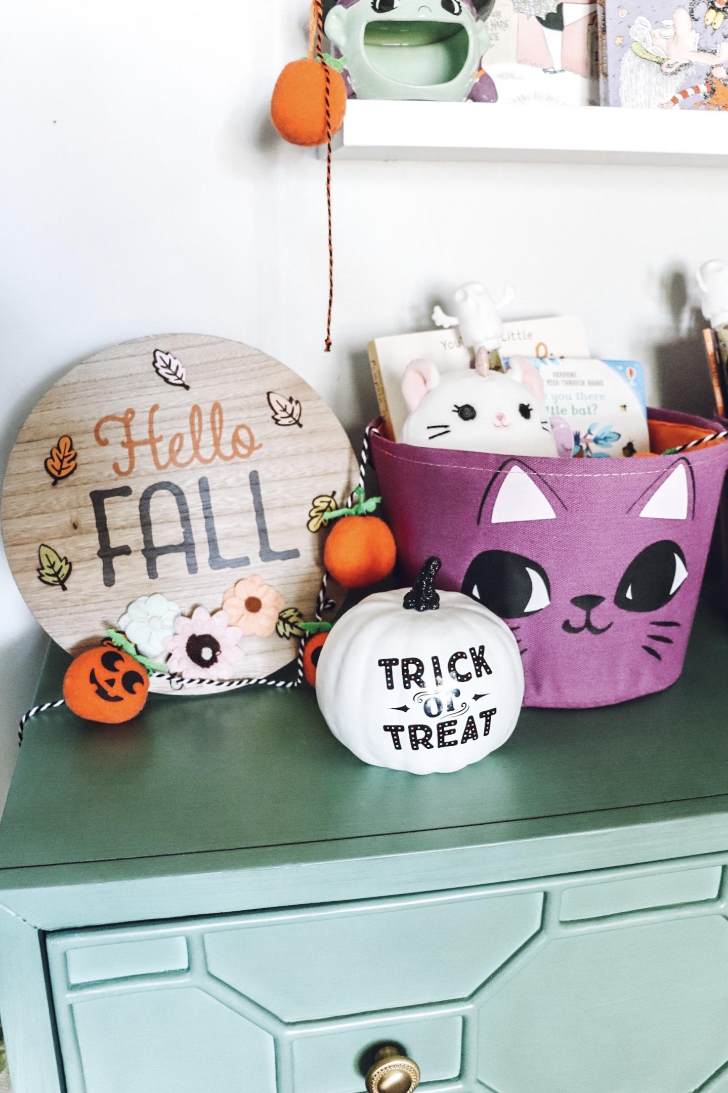 kids halloween gift basket