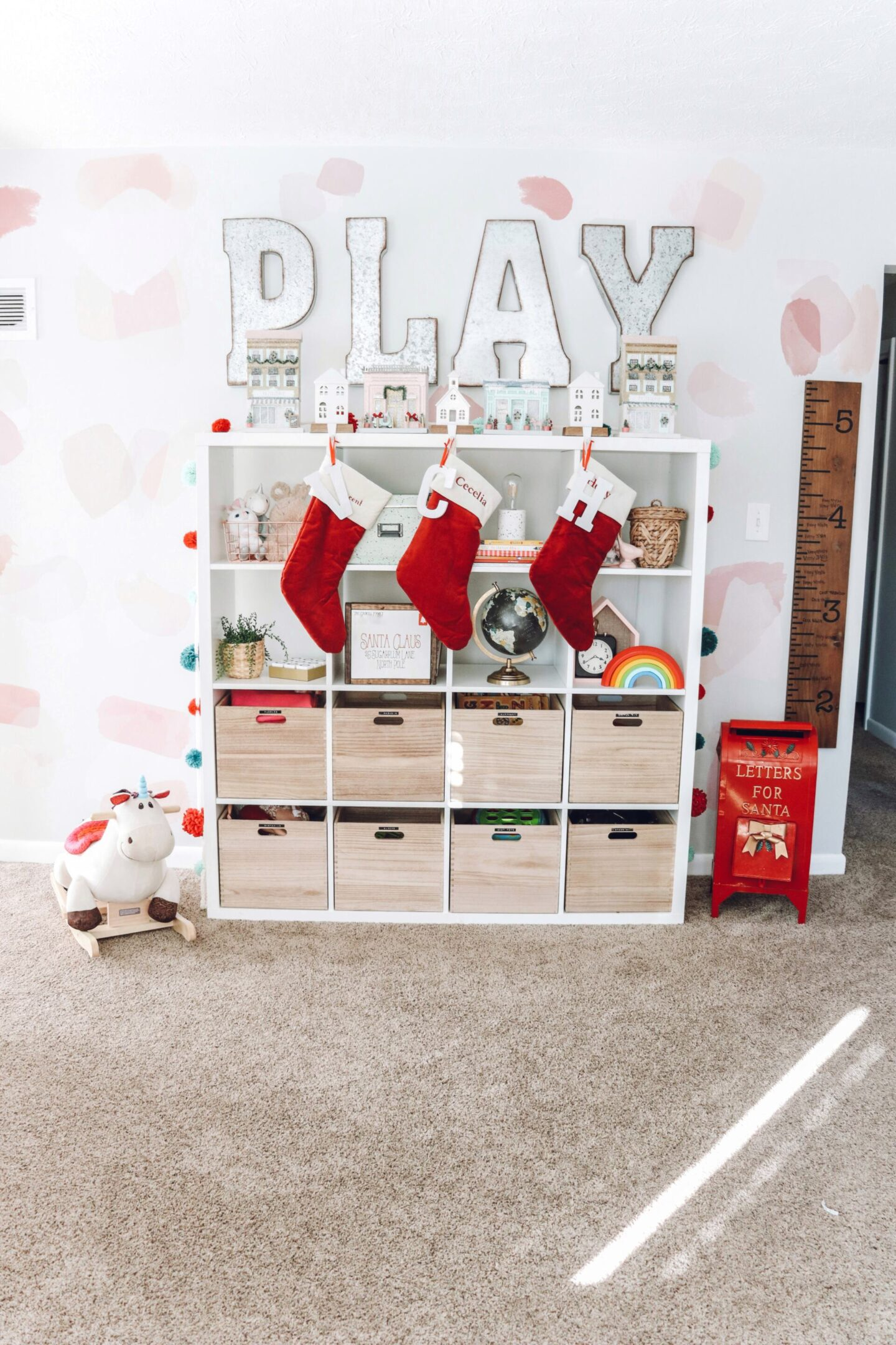 Christmas playroom