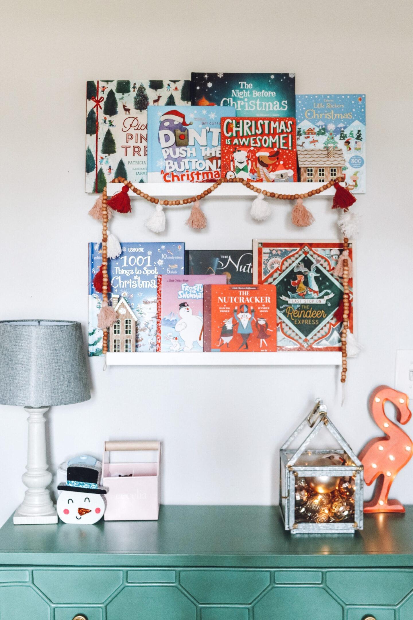 Christmas girls bedroom