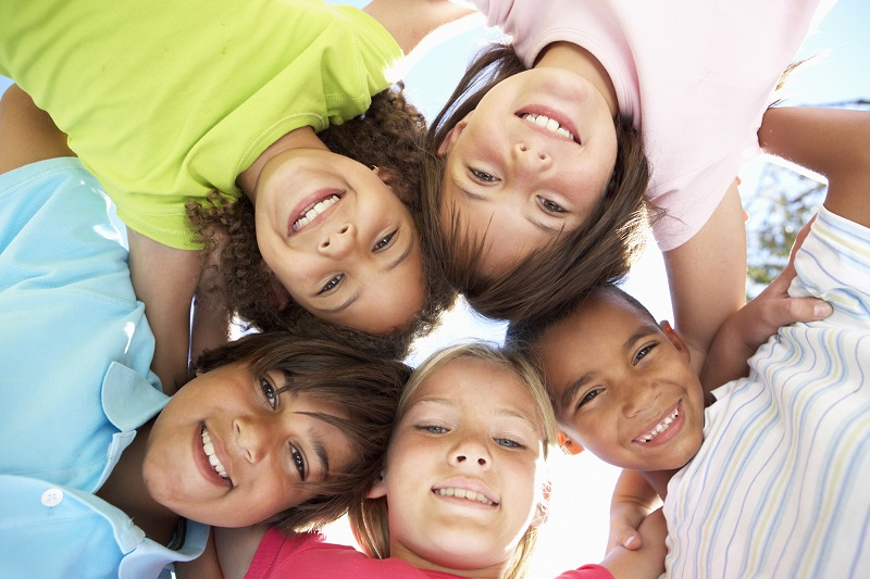 picture of children smiling