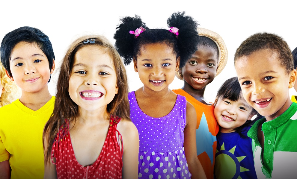 picture of kids smiling