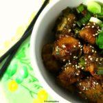 Teriyaki Chicken and Cocoyam (Taro Root) Recipe