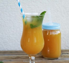 african-mango-and-lemon-iced-tea