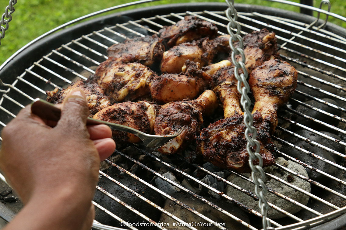 Kid-Friendly West African Jerk Chicken