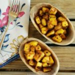 Ghana-inspired Spicy Fried Plantain (Kelewele)