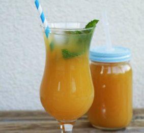 mango-and-lemon-iced-tea
