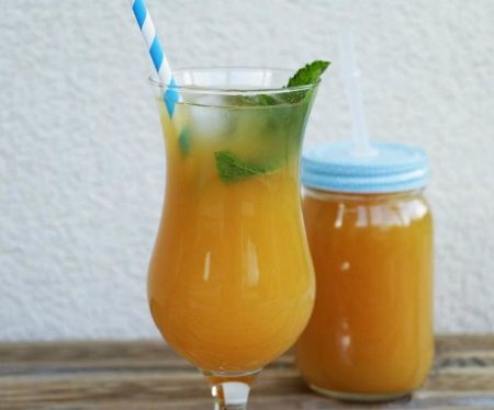 mango-and-lemon-iced-tea