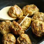 Veggie Plantain Meatballs with Honey & Soy Sauce