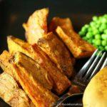 Cinnamon-Glazed Sweet Potato Wedges
