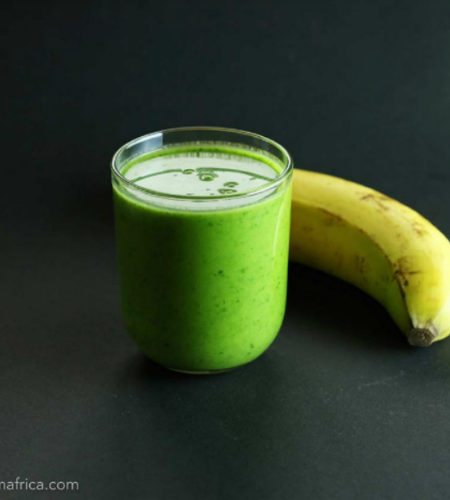 This Baobab Spinach Smoothie combines healthy greens with the Baobab fruit powder to create a delicious and nutritious breakfast smoothie.