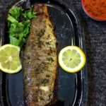 Honey & Thyme Whole Grilled Trout