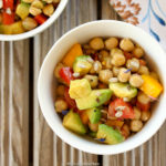 Egyptian Chickpea & Avocado Salad