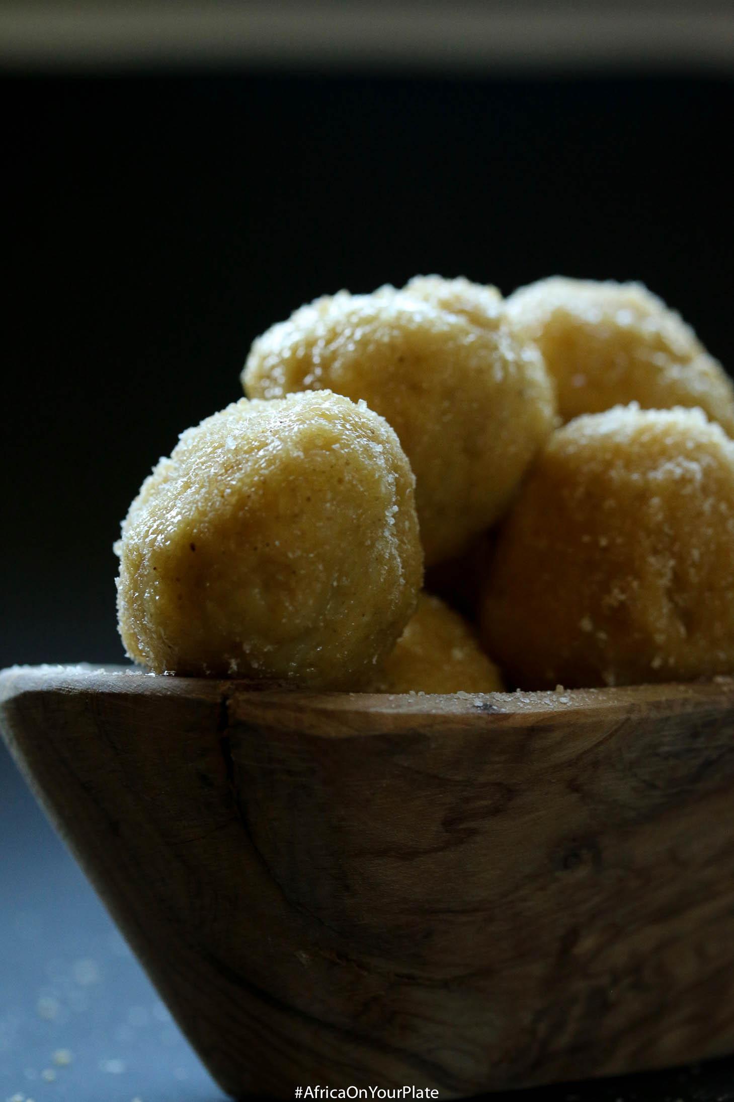 african ginger millet cereal (fura de nono)