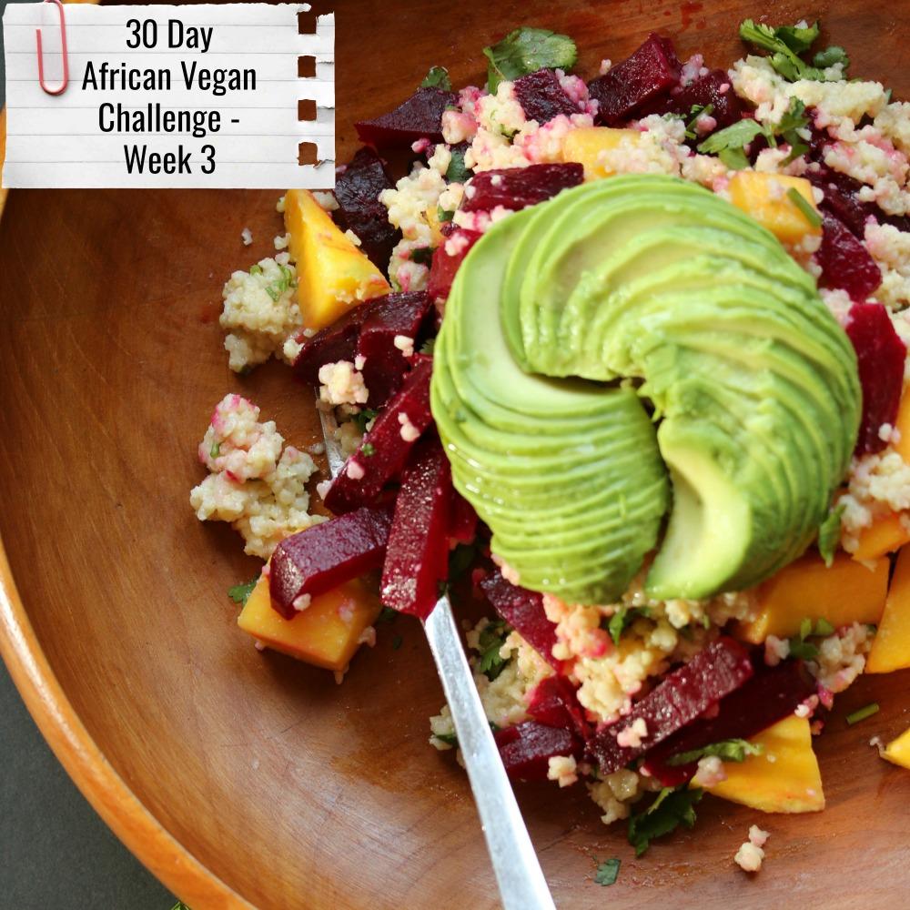 african vegan challenge week three