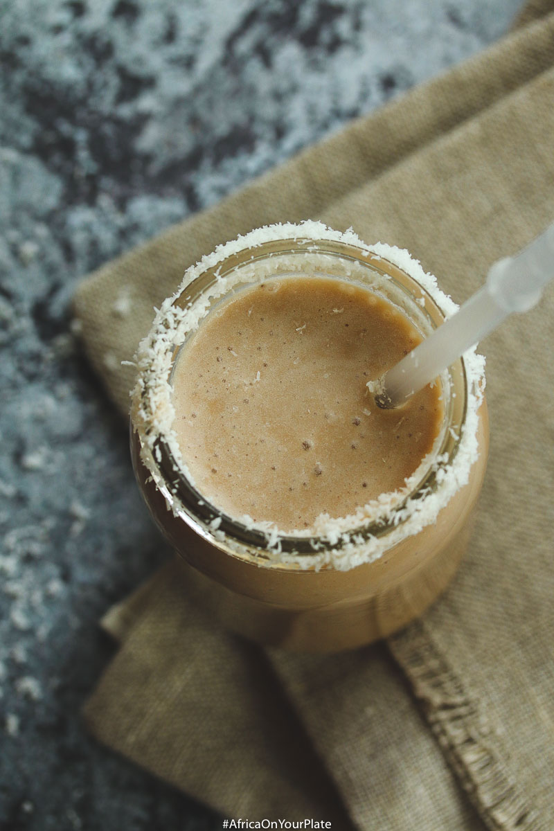 This Baobab Coconut Smoothie is flavoursome and healthy breakfast idea. Sugar-Free, and Vegan. Let me introduce you to this Baobab Coconut Smoothie which is as flavoursome, as it is creamy. You will only need 5 ingredients, and five minutes of your time.
