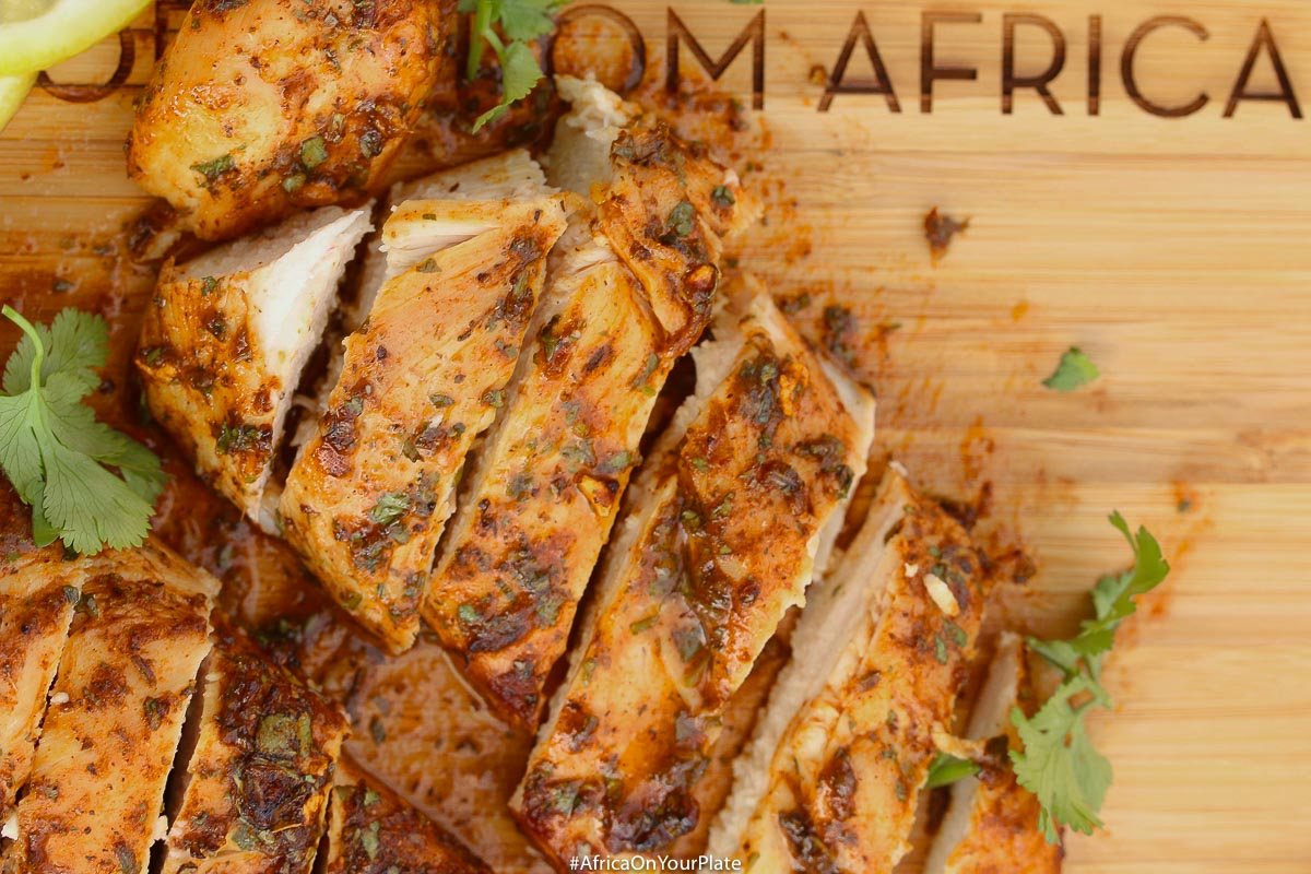 This 20-minute baked African paprika & honey chicken is so easy to make, yet so big on flavour, it makes the perfect week-night dinner idea