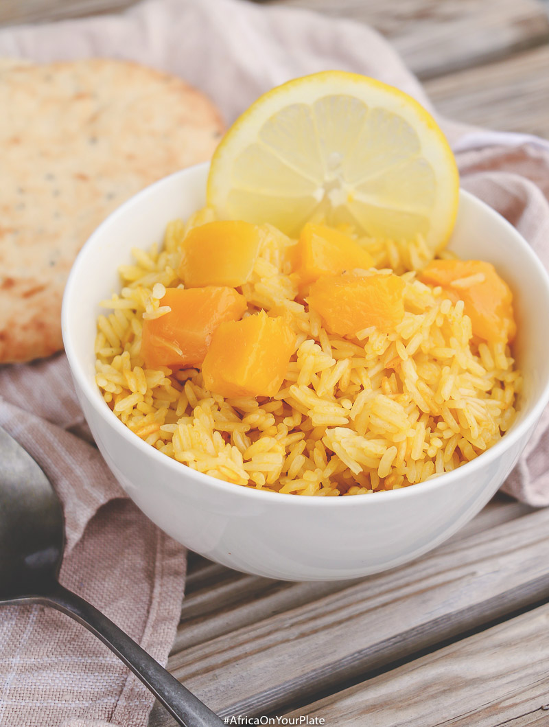 This Kenyan-inspired coconut mango rice inspired by Wali Wa Nazi (Kenyan Coconut Rice) combines the sweet and tangy flavours of mangoes with the creamy texture of coconut into one easy-to-make and delicious meal.