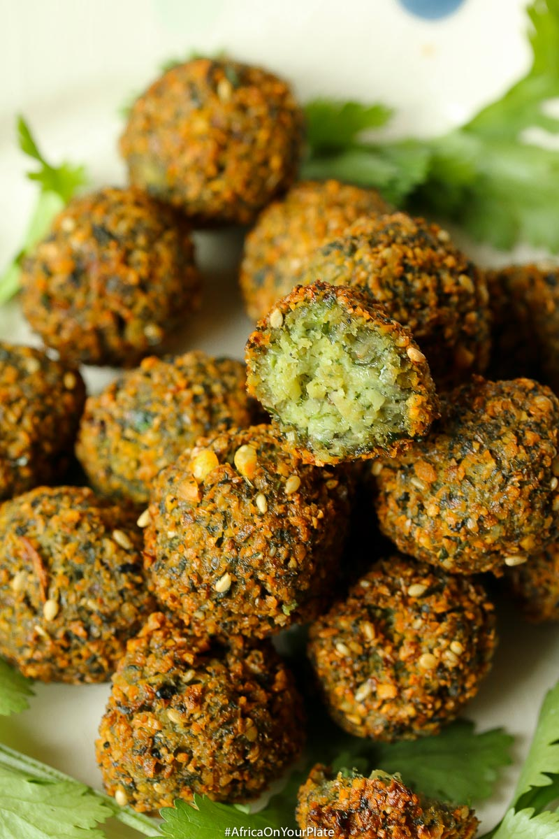 This Moroccan-inspired falafel recipe delivers a delicately crispy falafel on the outside with a soft buttery interior. Herbed and spiced to perfection, they are super easy to make. Eat them on their own, or in a falafel salad or sandwich or as a snack.