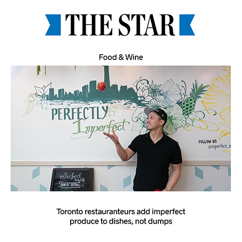 Toronto Star: Food and Wine Feature
