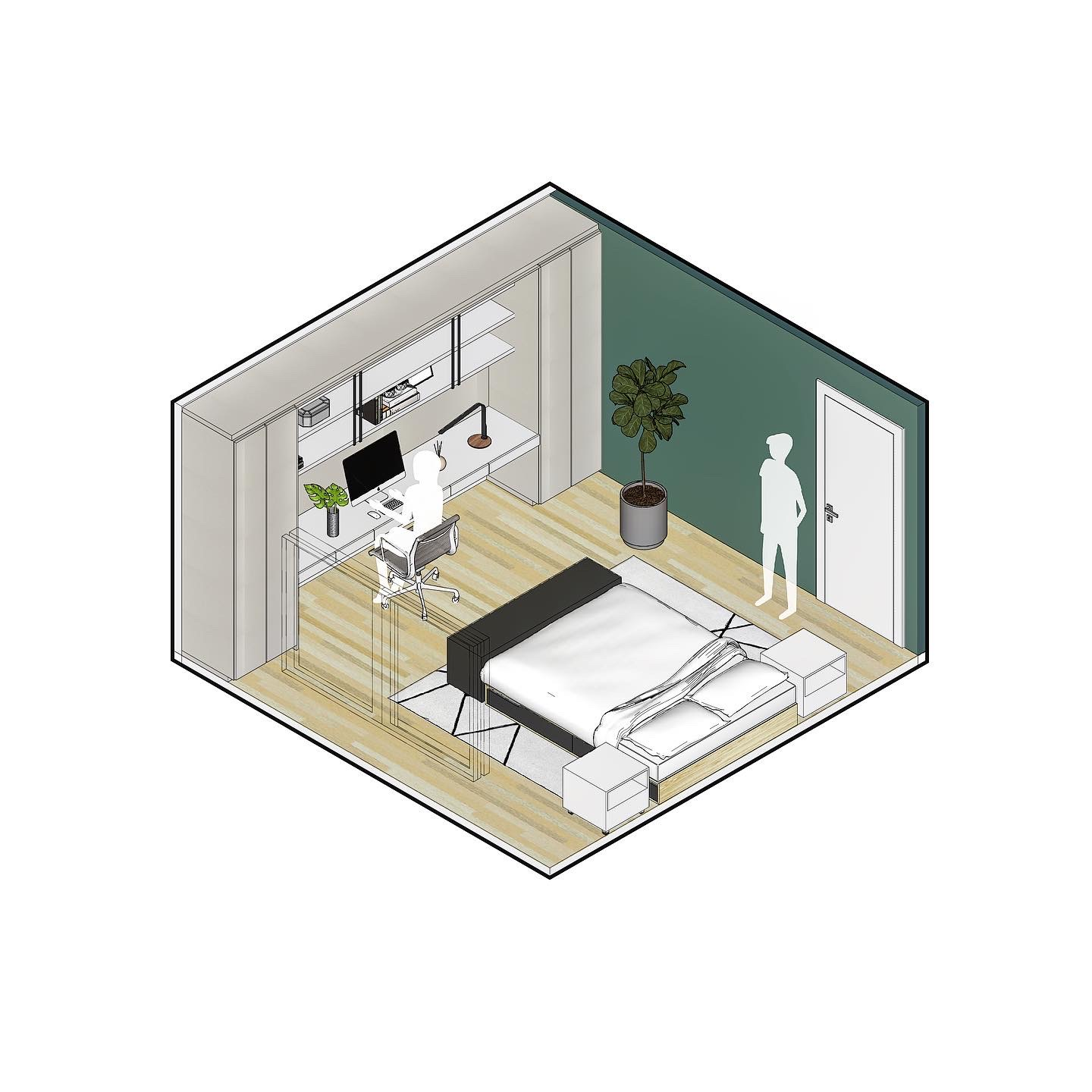 Bedroom As Home Office 2
