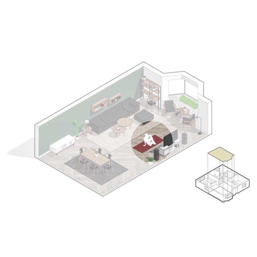 TV As Breakout Space and Webinar Console