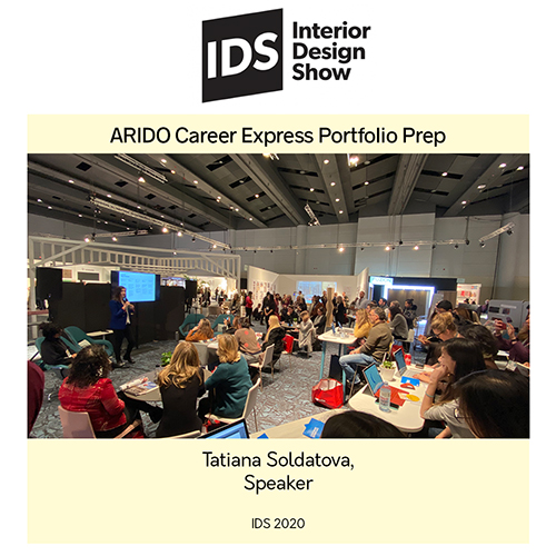 IDS 2020 Speaker: Tatiana Soldatova, ARIDO Career Express Portfolio Prep