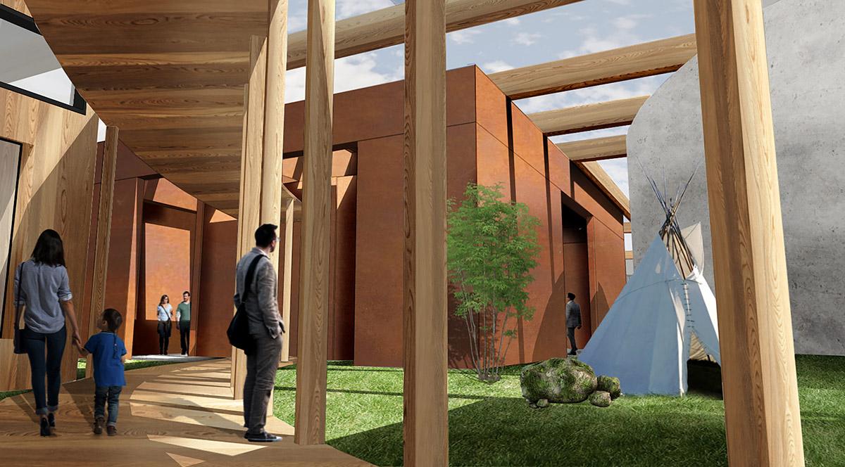 WEB_ZFN01 - Rendering Cultural center 1