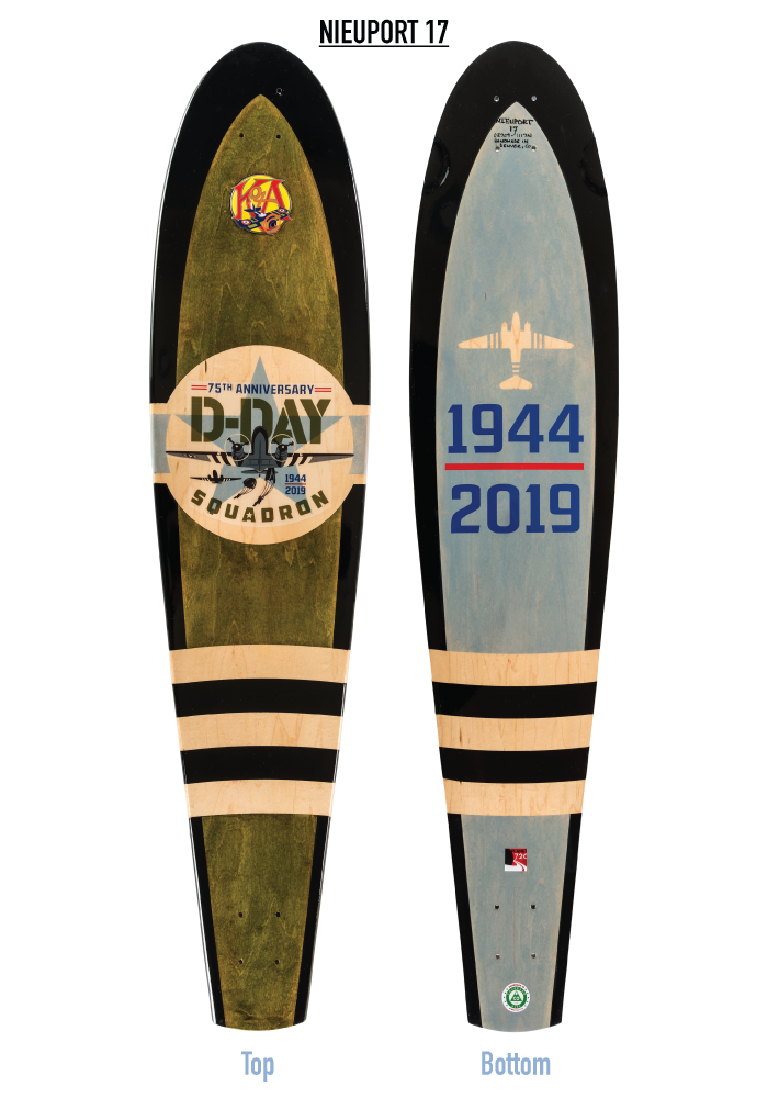 D-DAY Squadron N17 longboards