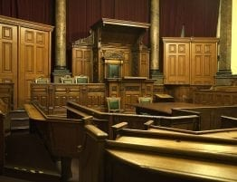 Courtroom Toronto Criminal Defense Lawyer