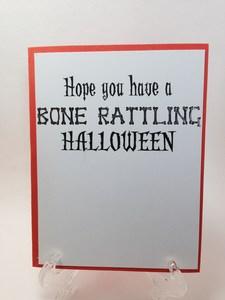 Skeleton dance inside