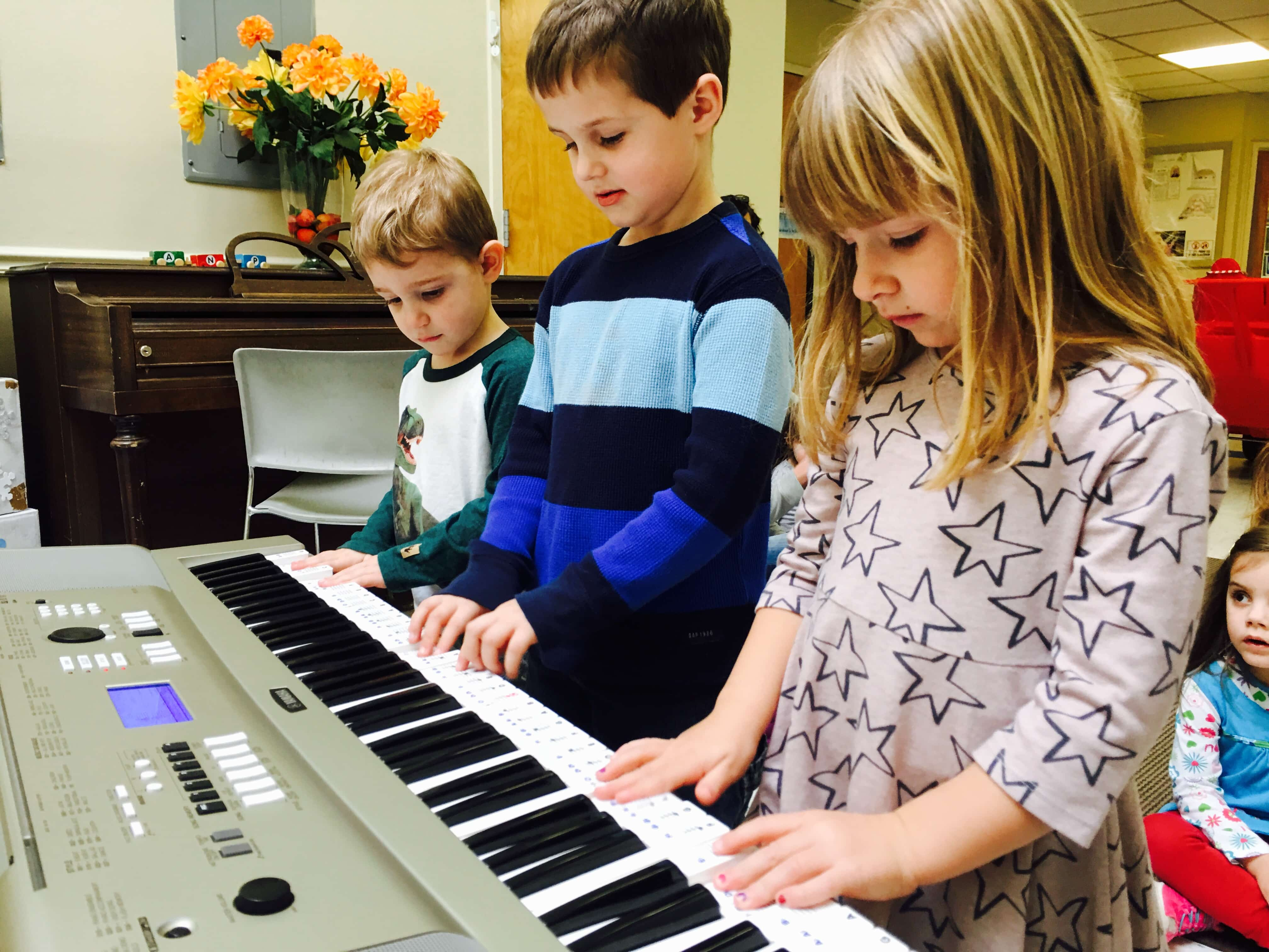 Students Playing Keyboard 5