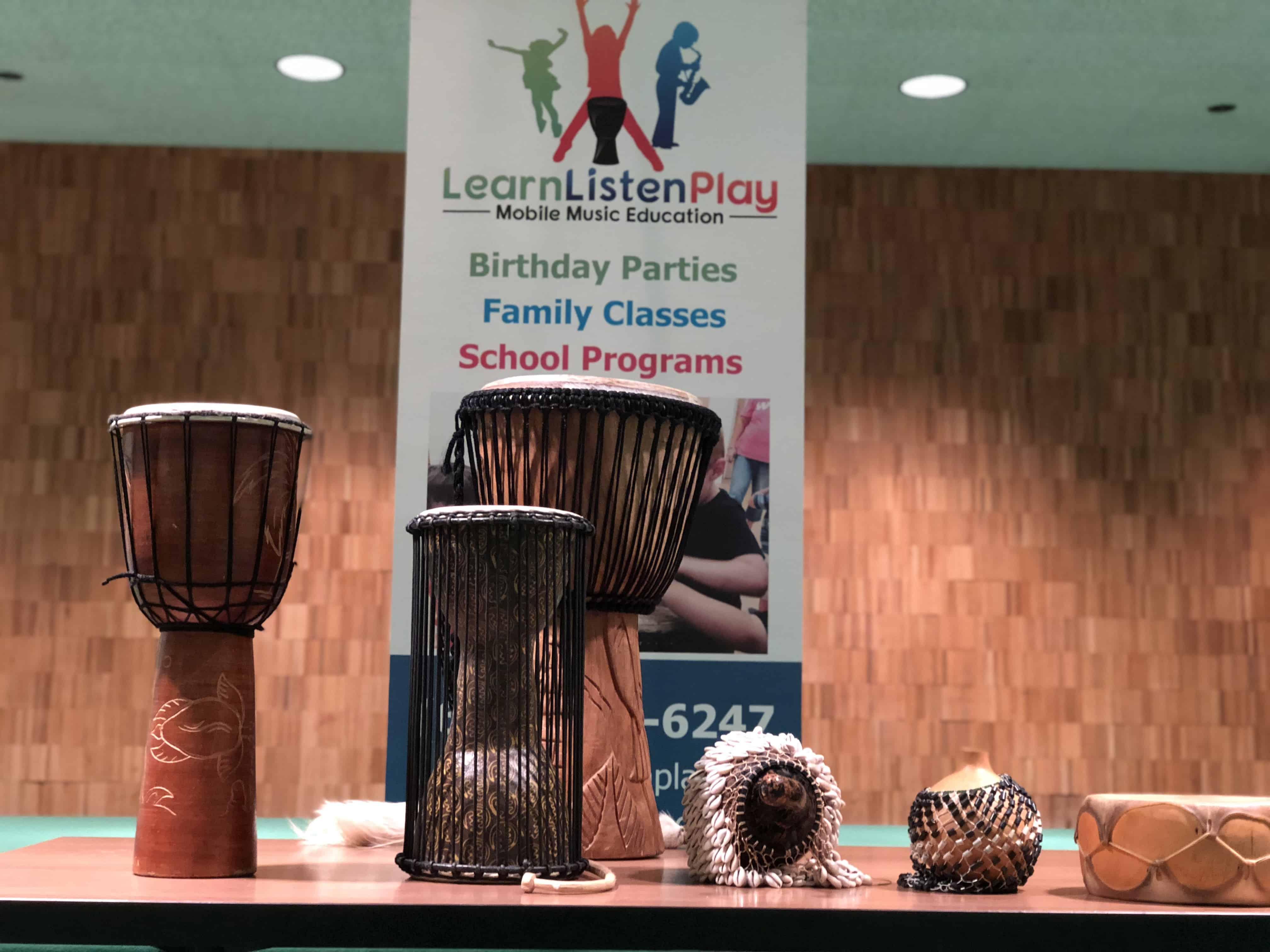 African Drum Show