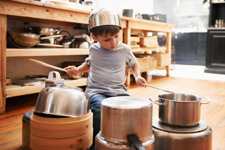 Pots and Pans Drummer Boy