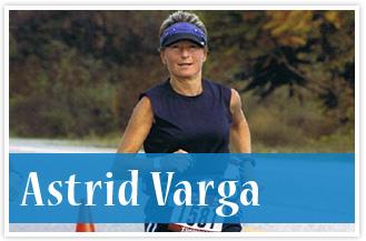 athlete Astrid Avarga