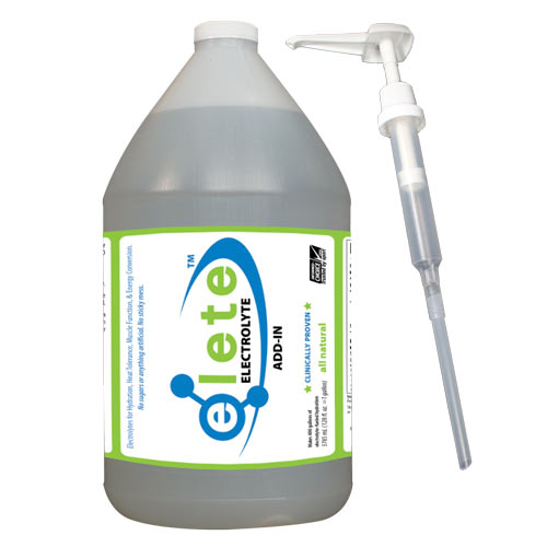 elete Electrolyte Add-In 128oz with Pump