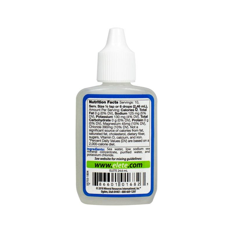 elete electrolyte Add-In pocket-bottle ba