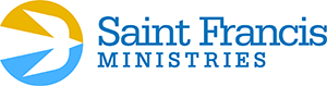 St. Francis Ministries logo with a dove