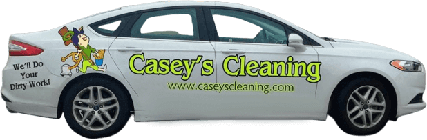 Casey's house cleaning car