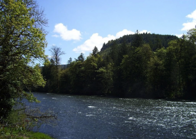 McKenzie River vacation home rental River View