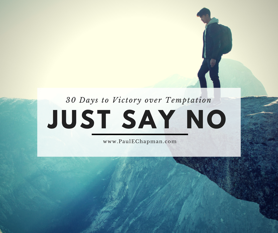 JUST SAY NO to Temptation 30 Day Devotional